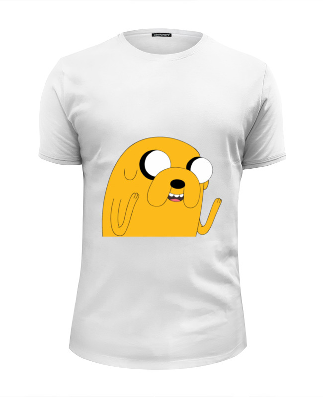Футболка Wearcraft Premium Slim Fit Printio Adventure time: jake dog vtf18 4n1212