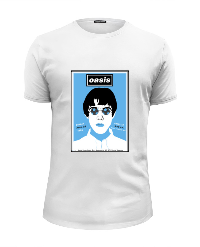 Футболка Wearcraft Premium Slim Fit Printio Oasis футболка wearcraft premium slim fit printio oasis