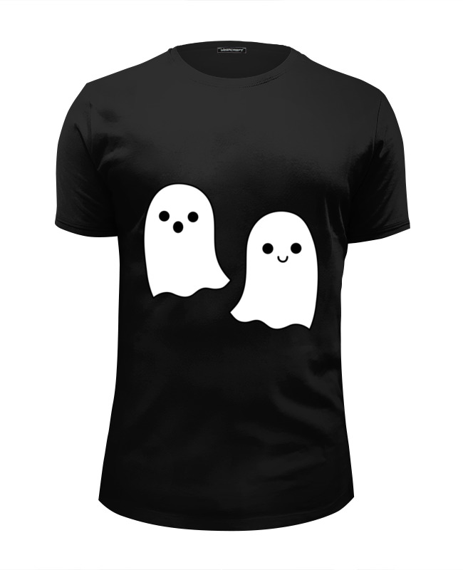 Футболка Wearcraft Premium Slim Fit Printio Ghost футболка wearcraft premium printio what ghost x condom