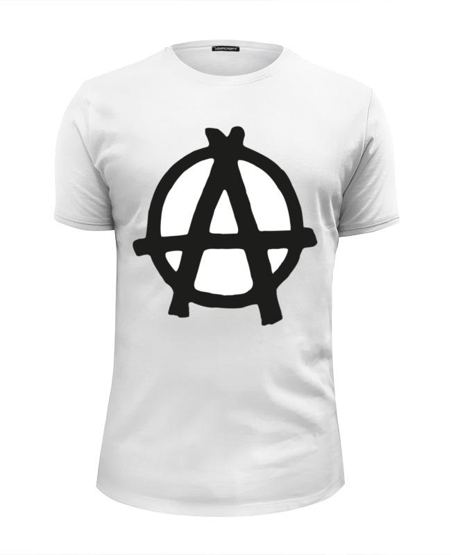 Футболка Wearcraft Premium Slim Fit Printio Анархия, anarchy слюнявчик printio анархия