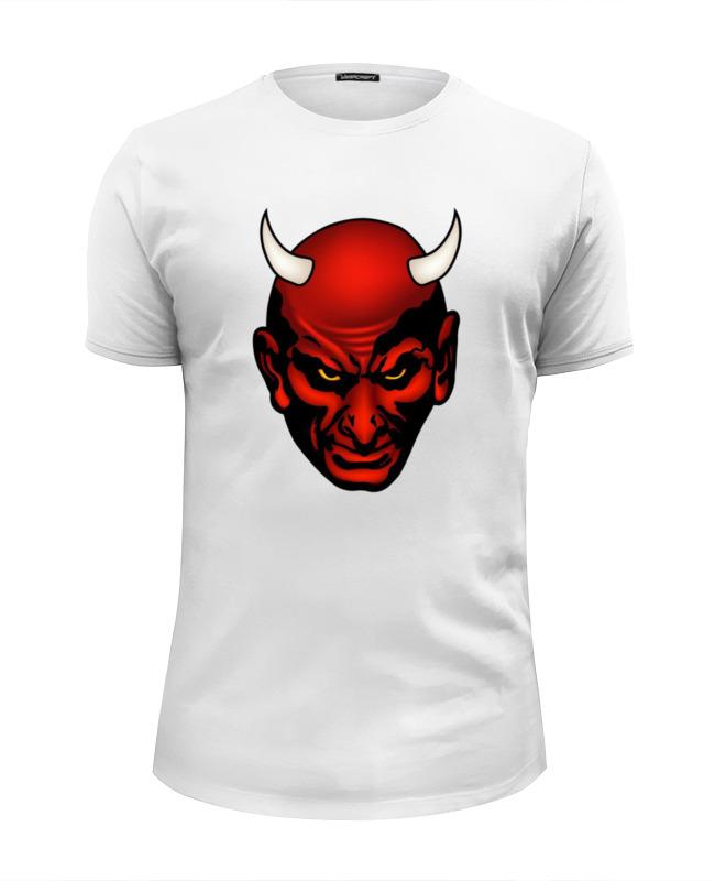 Футболка Wearcraft Premium Slim Fit Printio Дьявол футболка wearcraft premium slim fit printio тасманский дьявол