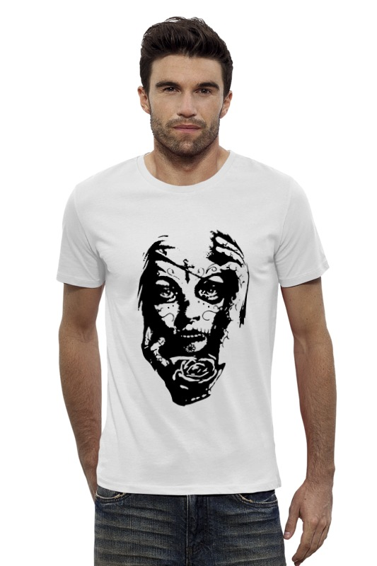 Футболка Wearcraft Premium Slim Fit Printio Day of the dead (день мертвых) the house of the dead