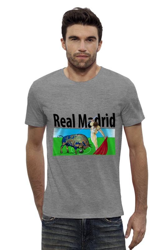 Футболка Wearcraft Premium Slim Fit Printio Real madrid tryp madrid centro ex tryp washington 3 мадрид
