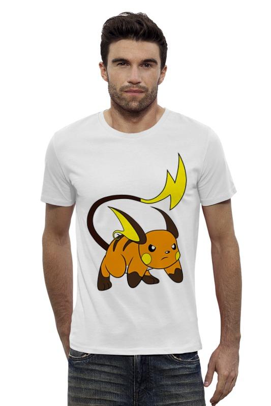 Футболка Wearcraft Premium Slim Fit Printio Pokemon  raichu футболка wearcraft premium slim fit printio pokemon raichu