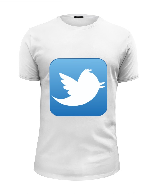 Printio Twitter футболка wearcraft premium slim fit printio angry bird twitter