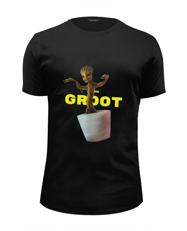 Футболка Wearcraft Premium Slim Fit Printio Я есть грут футболка wearcraft premium printio я есть грут