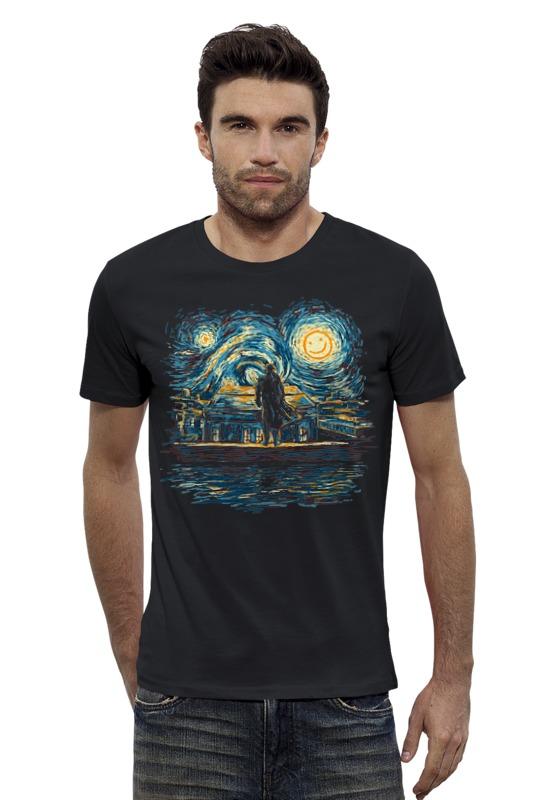 Футболка Wearcraft Premium Slim Fit Printio Шерлок (ван гог) футболка print bar ван гог
