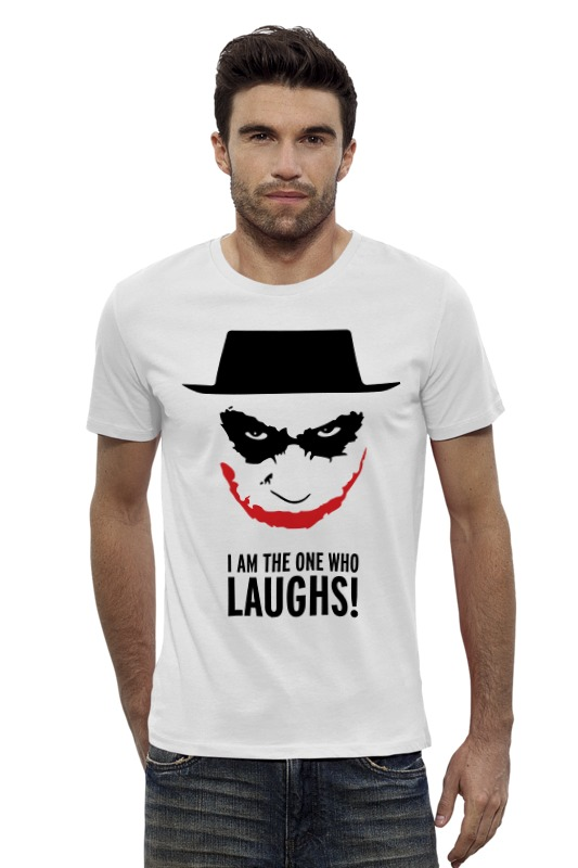 Футболка Wearcraft Premium Slim Fit Printio Джокер ( joker ) футболка wearcraft premium slim fit printio joker