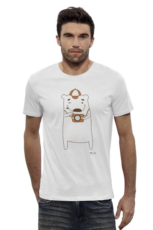 Футболка Wearcraft Premium Slim Fit Printio Мишка бо фотограф футболка wearcraft premium slim fit printio мишка me to you