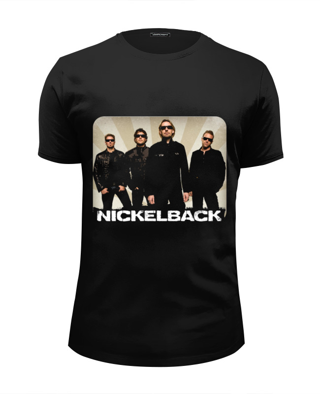 Футболка Wearcraft Premium Slim Fit Printio Nickelback cd диск nickelback the best of nickelback volume 1 1 cd