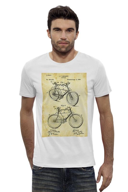 Футболка Wearcraft Premium Slim Fit Printio Велосипед футболка wearcraft premium slim fit printio vampire