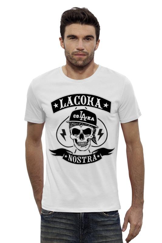 Футболка Wearcraft Premium Slim Fit Printio La coka nostra футболки la coka nostra в спб