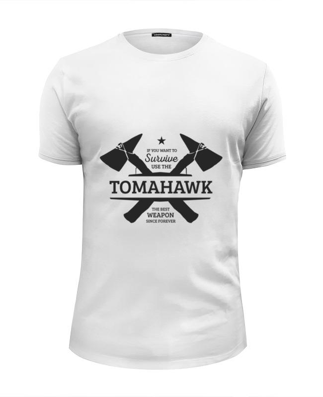 Футболка Wearcraft Premium Slim Fit Printio Томагавк футболка классическая printio томагавк