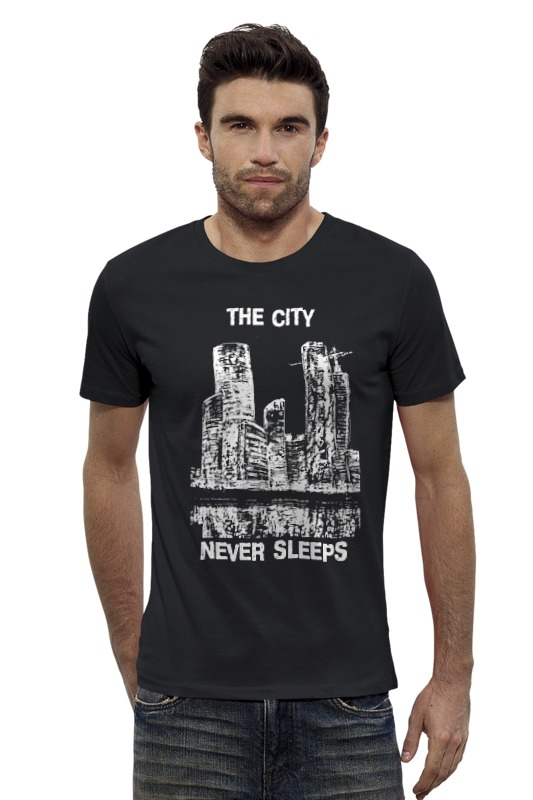 Футболка Wearcraft Premium Slim Fit Printio Moscow-city free shipping 747148 501 motherboard with a6 5200 amd for hp 255 g2 15 d laptop
