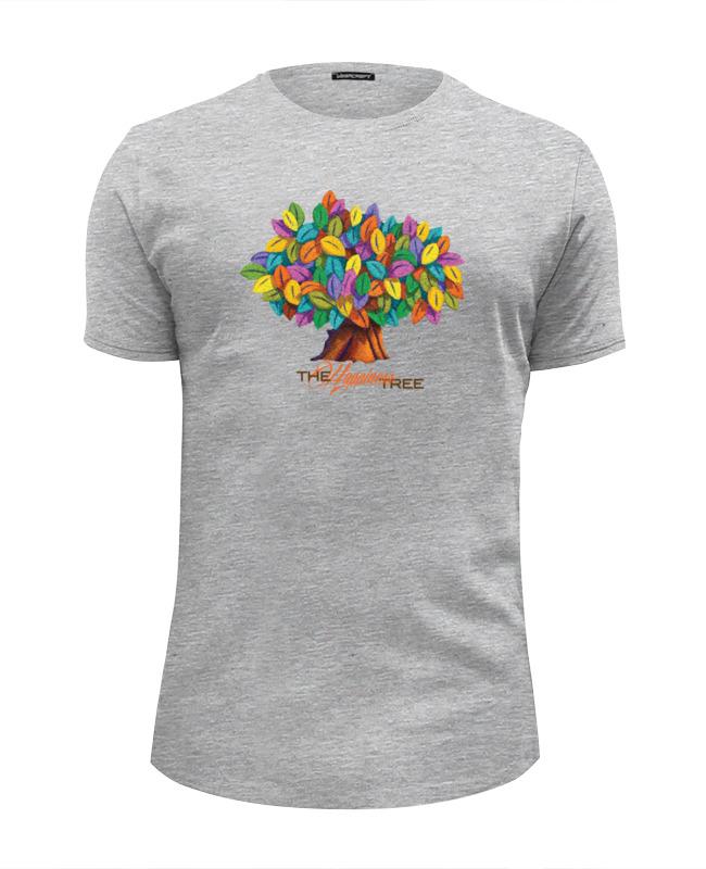 Футболка Wearcraft Premium Slim Fit Printio Icalistini the happiness tree дерево счастья футболка классическая printio icalistini the happiness tree дерево счастья