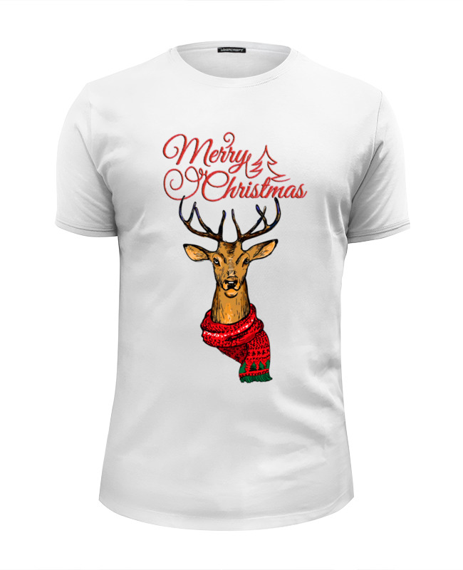 Футболка Wearcraft Premium Slim Fit Printio Merry christmas футболка wearcraft premium printio merry christmas