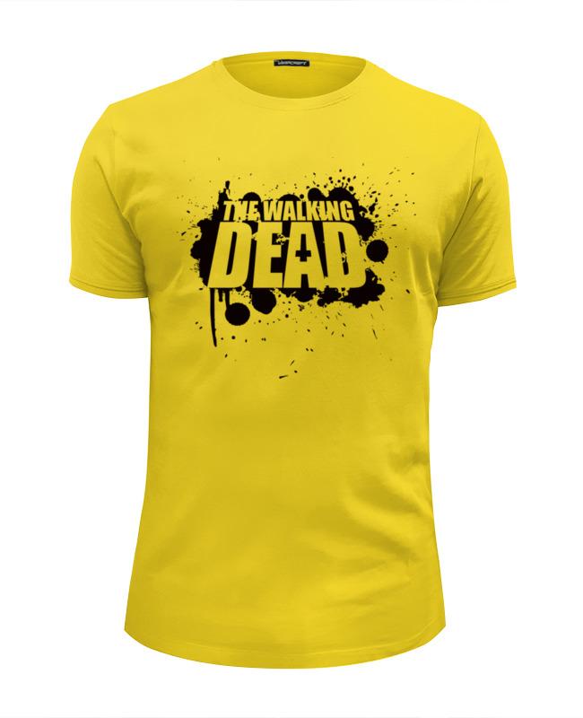 Футболка Wearcraft Premium Slim Fit Printio Ходячие мертвецы (the walking dead) bringing up the dead