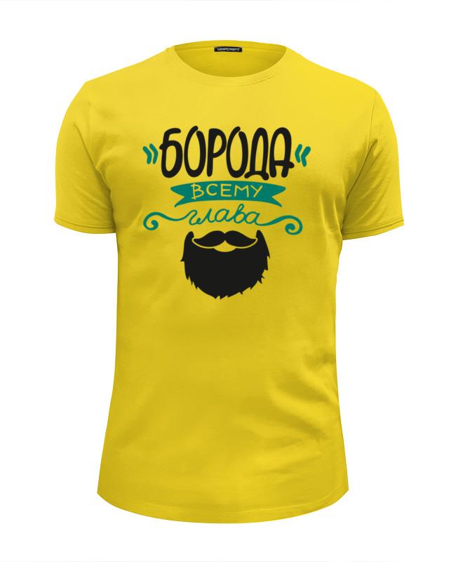 Футболка Wearcraft Premium Slim Fit Printio Мужская футболка с принтом от idiotstile футболка мужская abercrombie