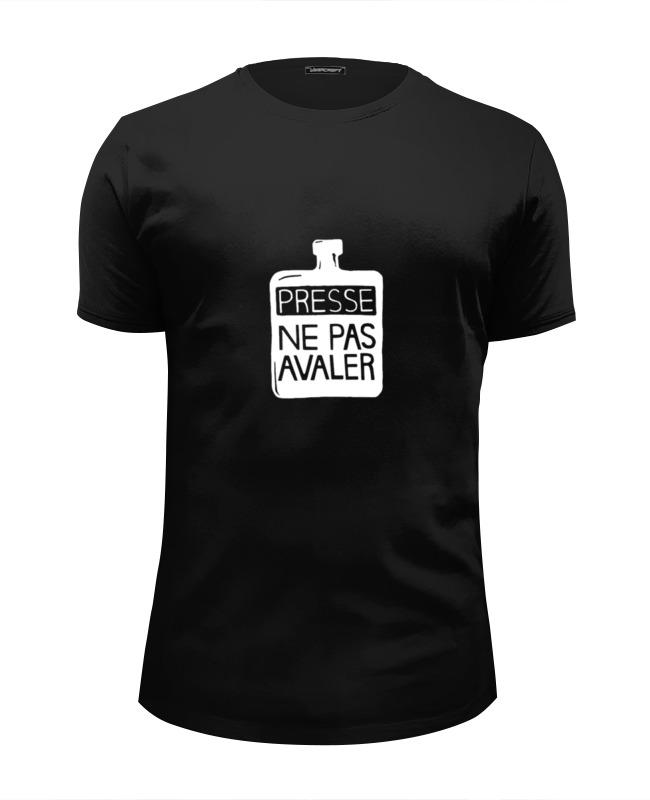Printio Thom yorke's presse ne pas avaler t-shirt футболка wearcraft premium slim fit printio thom yorke t shirt