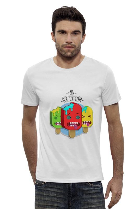 цены на Футболка Wearcraft Premium Slim Fit Printio Team ice cream в интернет-магазинах