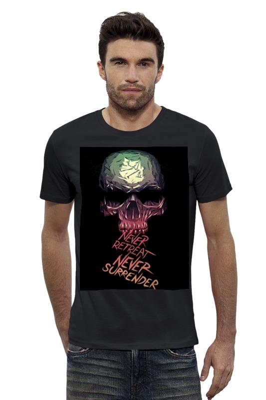 Футболка Wearcraft Premium Slim Fit Printio Skull - 3 футболка wearcraft premium slim fit printio skull