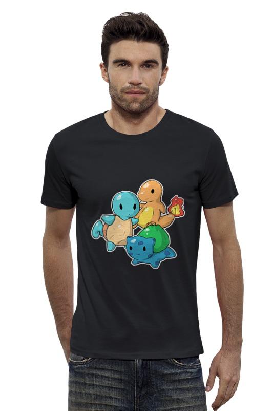 Футболка Wearcraft Premium Slim Fit Printio Покемоны ( pokemon ) футболка wearcraft premium slim fit printio pokemon raichu