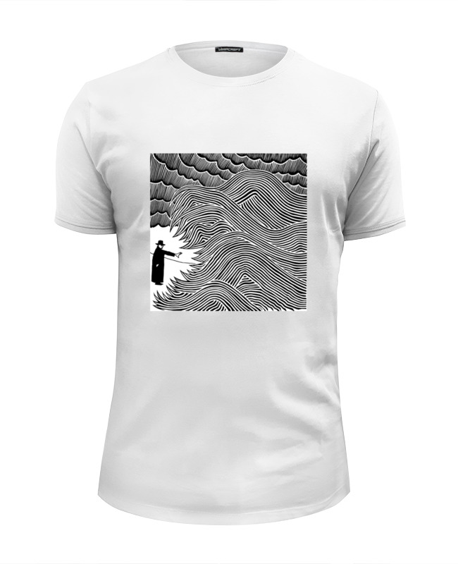 Футболка Wearcraft Premium Slim Fit Printio Radiohead art t-shirt t art блузка