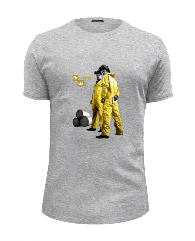Футболка Wearcraft Premium Slim Fit Printio Breaking bad футболка wearcraft premium slim fit printio god of meth breaking bad
