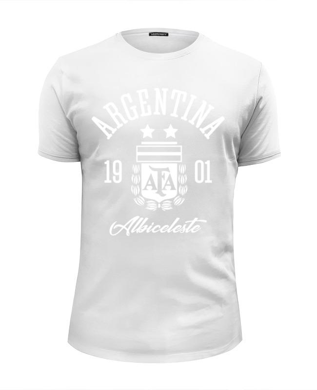 Printio Сборная аргентины футболка wearcraft premium slim fit printio walkman