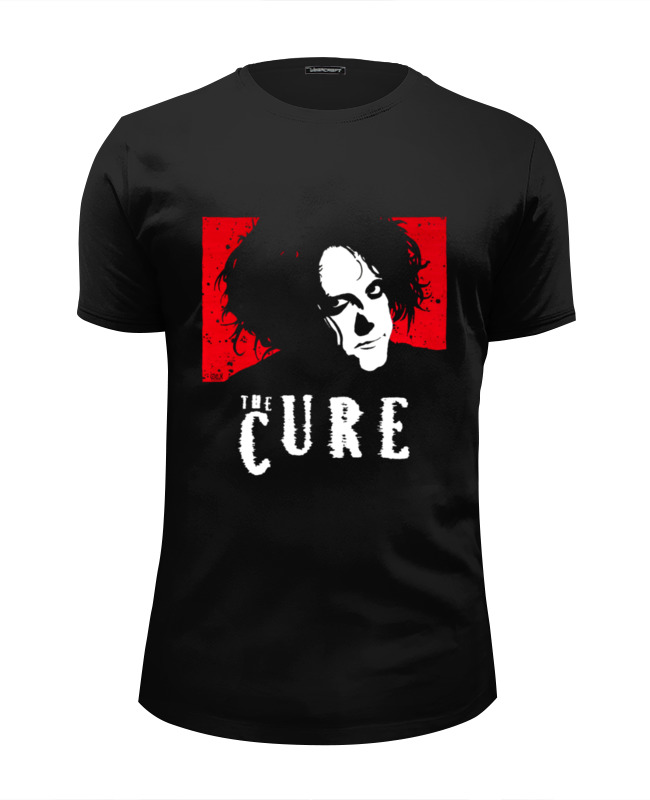 Футболка Wearcraft Premium Slim Fit Printio The cure the cure the cure greatest hits 2 lp
