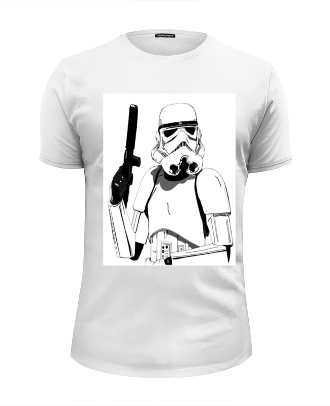 Футболка Wearcraft Premium Slim Fit Printio Star wars футболка wearcraft premium printio star wars