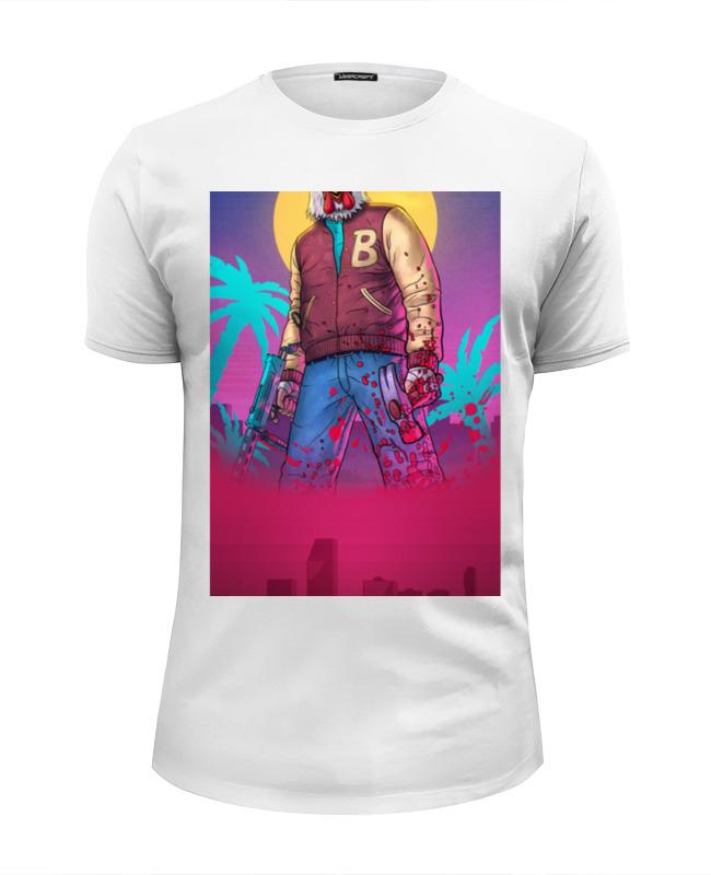 Футболка Wearcraft Premium Slim Fit Printio Hotline miami футболка wearcraft premium slim fit printio майами