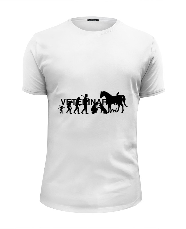 Printio Настоящая эволюция футболка wearcraft premium slim fit printio эволюция
