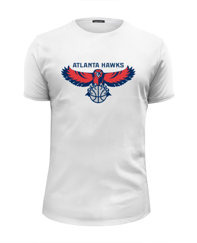 Футболка Wearcraft Premium Slim Fit Printio Atlanta hawks boise hawks hawks at vancouver canadians