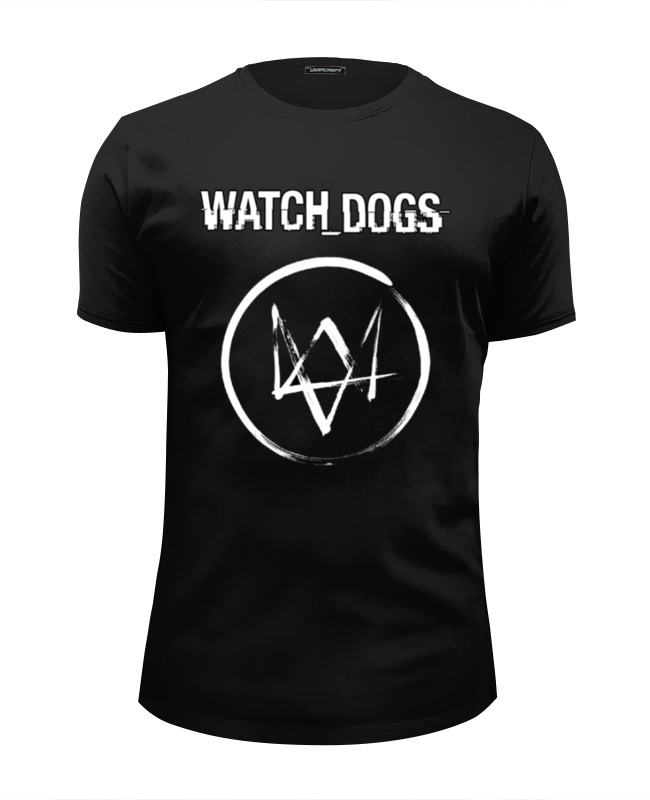 Футболка Wearcraft Premium Slim Fit Printio Watch dogs