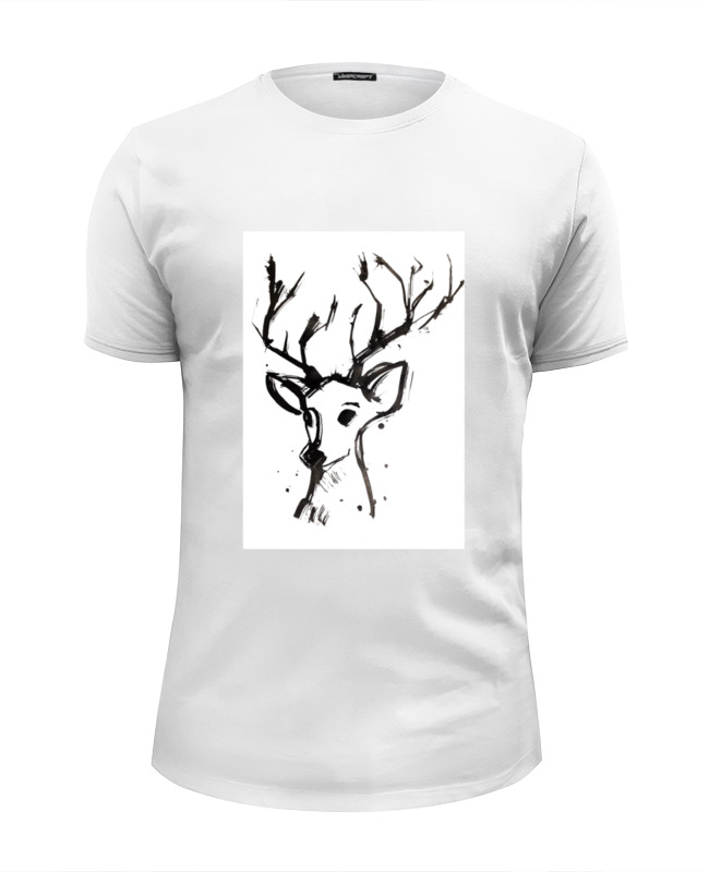 Футболка Wearcraft Premium Slim Fit Printio Dear deer