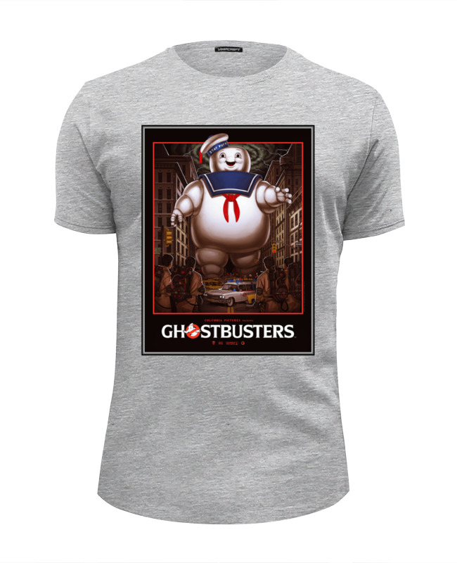 Футболка Wearcraft Premium Slim Fit Printio Ghost busters футболка wearcraft premium printio what ghost x condom