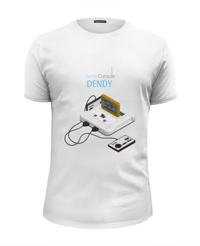 Футболка Wearcraft Premium Slim Fit Printio Игровая приставка денди сумка printio игровая приставка денди
