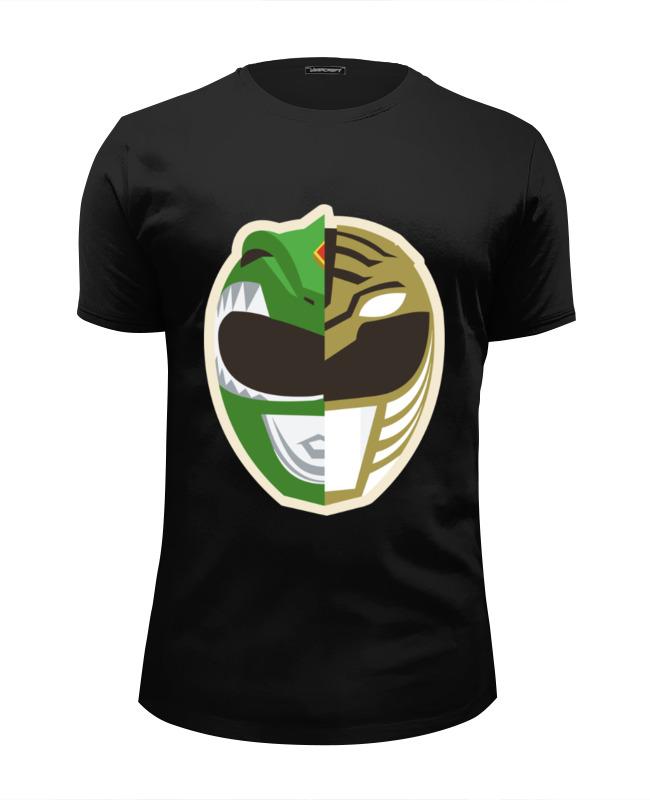 Printio Могучие рейнджеры футболка wearcraft premium slim fit printio power