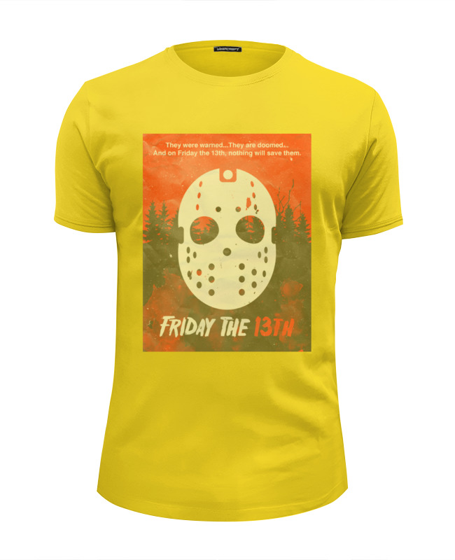 Футболка Wearcraft Premium Slim Fit Printio Friday 13th футболка wearcraft premium slim fit printio friday the 13th i love ny