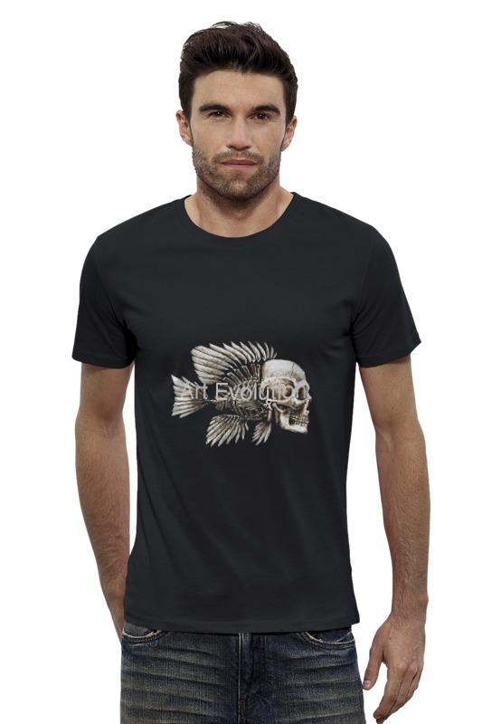 Футболка Wearcraft Premium Slim Fit Printio Art evolution футболка wearcraft premium slim fit printio psy art arsb