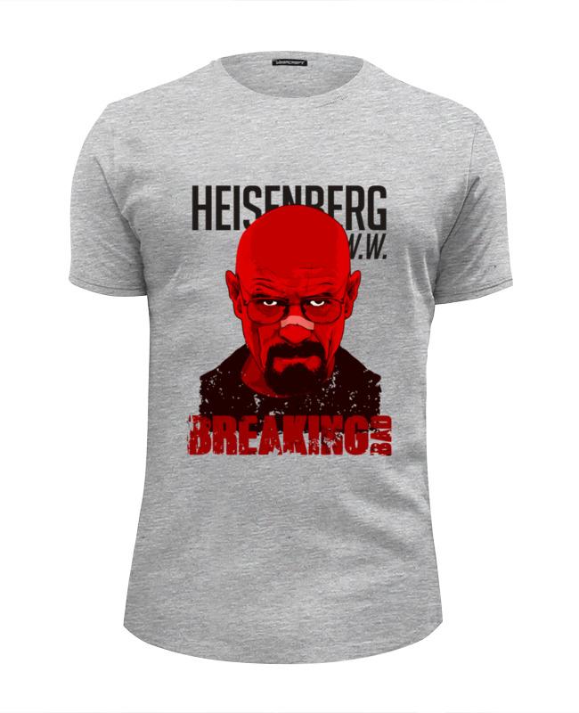 Футболка Wearcraft Premium Slim Fit Printio Heisenberg red