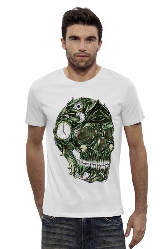 Футболка Wearcraft Premium Slim Fit Printio Череп printio футболка wearcraft premium slim fit