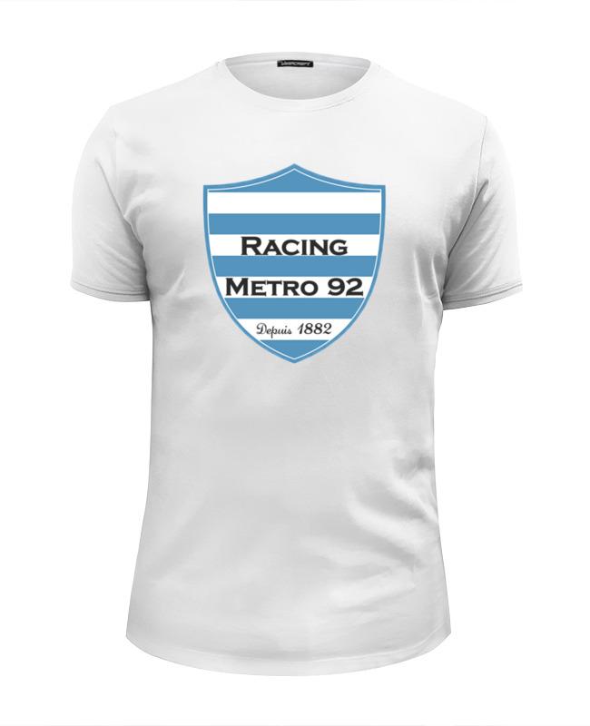 Printio Racing métro 92 rugby футболка кит 281 662 белый р 92 белый 92 размер