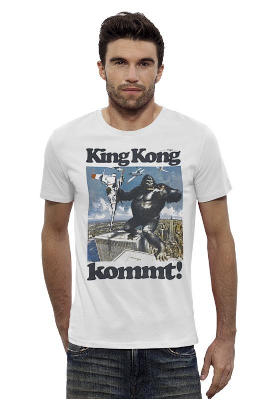 Футболка Wearcraft Premium Slim Fit Printio King kong лонгслив printio king kong