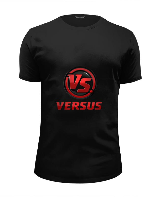 Футболка Wearcraft Premium Slim Fit Printio Версус футболка версус