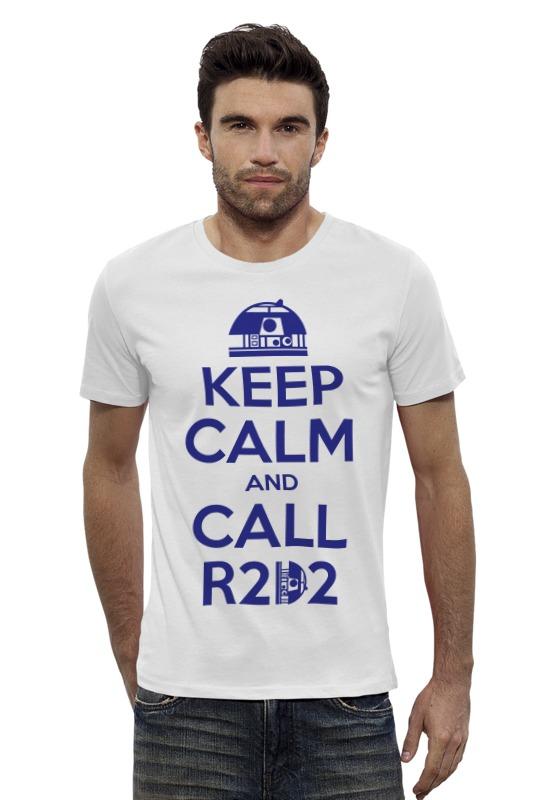 Футболка Wearcraft Premium Slim Fit Printio R2-d2 (star wars) футболка классическая printio r2 d2 star wars