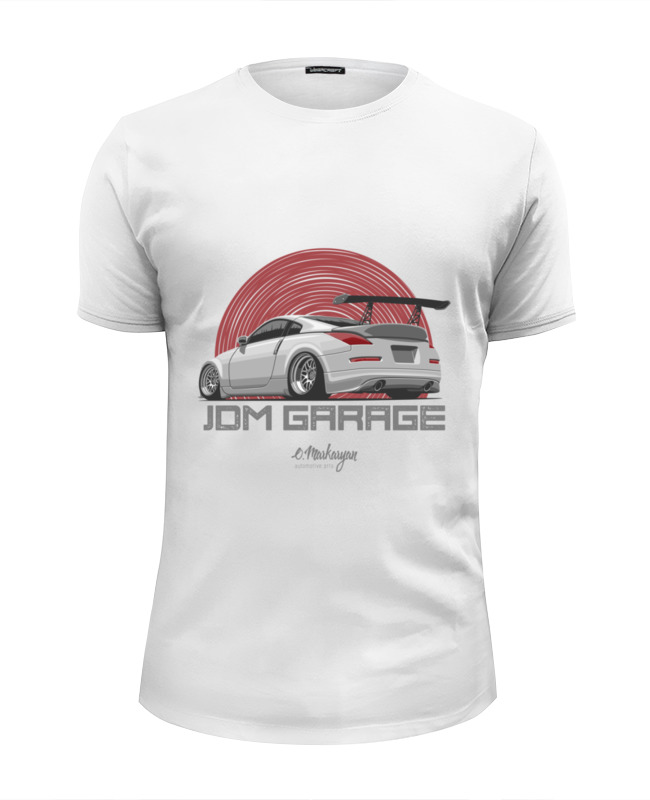 Футболка Wearcraft Premium Slim Fit Printio Nissan 350z custom