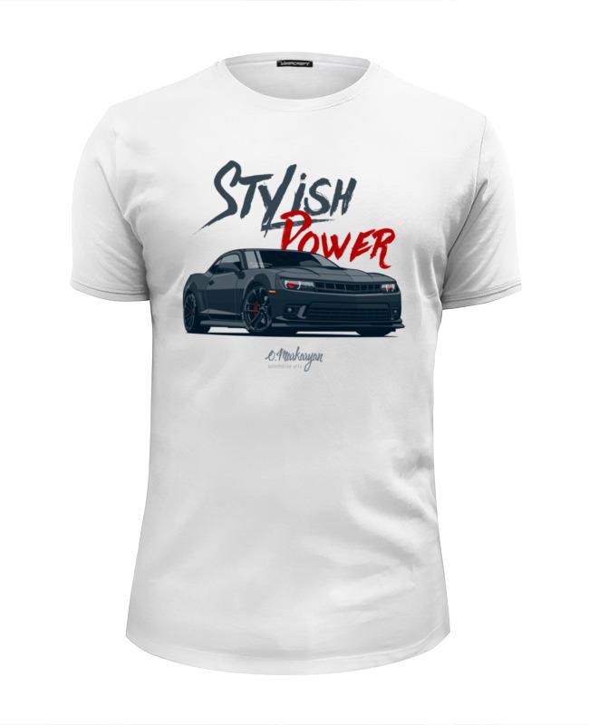 Футболка Wearcraft Premium Slim Fit Printio Chevrolet camaro футболка стрэйч printio chevrolet camaro
