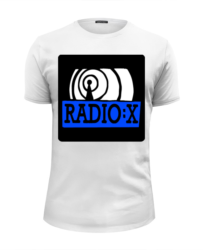 Футболка Wearcraft Premium Slim Fit Printio Radio x футболка wearcraft premium slim fit printio k jah west radio